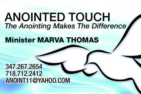 Anointed Touch
