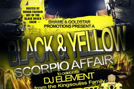 Black & Yellow Party